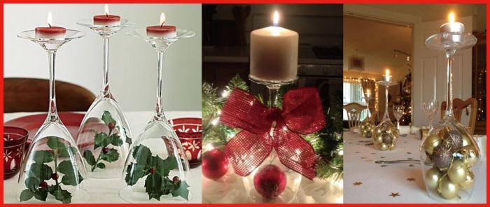 クリスマス キャンドル 飾り方