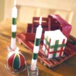 クリスマスキャンドルを手作り!簡単な作り方やアレンジと飾り方