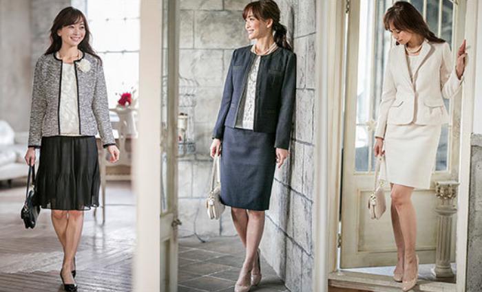 入学式 スーツ ママ ブランド