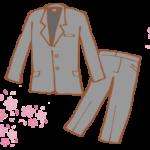 入学式|パンツスーツの母親の画像!インナーやおしゃれなママコーディネートも!