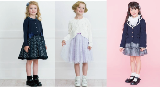小学校 入学 式 服装 女の子 ブランド