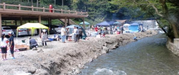 バーベキュー 大阪 川