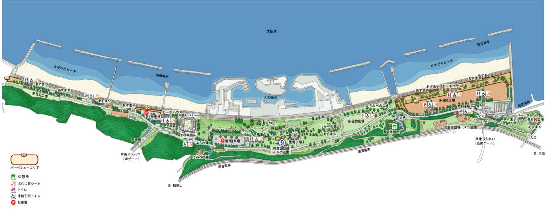 バーベキュー 大阪 無料 公園