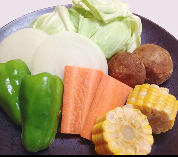 バーベキュー 野菜 量