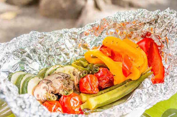 バーベキュー 野菜 ホイル焼き