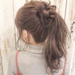 浴衣の髪型|子供のロングやセミロングのポニーテールやお団子・ハーフアップ