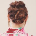 浴衣の髪型は自分で作る!くるりんぱの簡単ミディアムアレンジのやり方