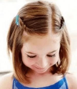 浴衣 髪型 ショート