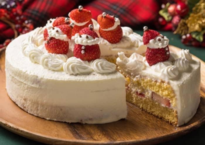 クリスマス ケーキ 飾り サンタ